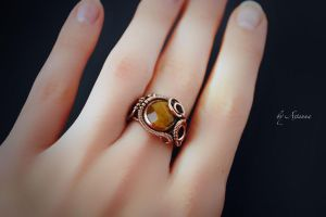 Ring Honey kisses by AstannaJewelry