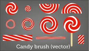 Candy vector brush by Vraah