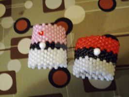 Poke Raver Cuffs x2 by SailorSun18