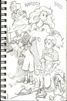 Arrietty Sketch! by gamufruit