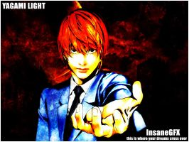 InsaneGFX Death Note Light by InsaneGFX187