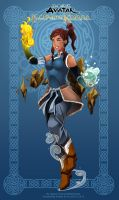 Commission: Dissidianized Korra by Ernz1318