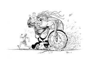 Wheelchair hottie by RyanOttley