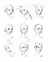 Hair Styles Vol 13 by ron-guyatt