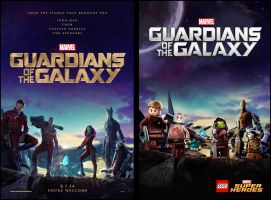 Guardians of the galaxy teaser poster by moleism
