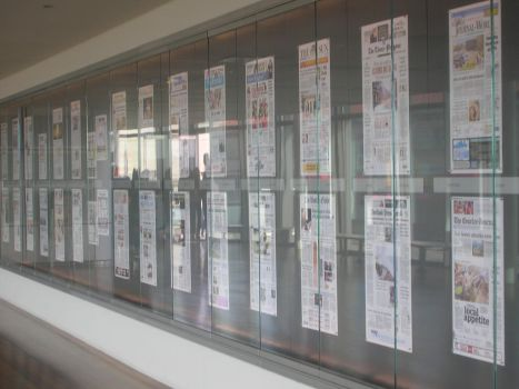 News Display in the Newseum by DALover82