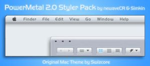 PowerMetal 2.0 Styler Pack by NewaveCR