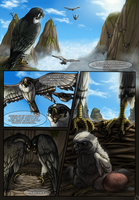 CrescentWing - Prologue Page 6 by Mikaley