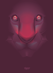 vector lion face by depot-hdm