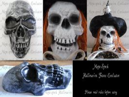 Halloween Faces Exclusive by Meta-Stock