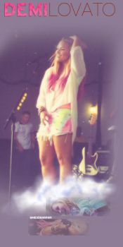 Background Demi Lovato by cherrykeeh