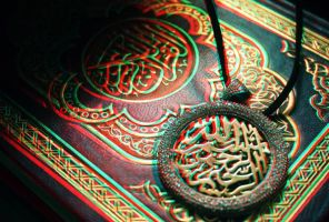 Islamic 3D stereo photo by amirajuli