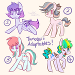 #2 Adoptables (OPEN) by Tamoqu