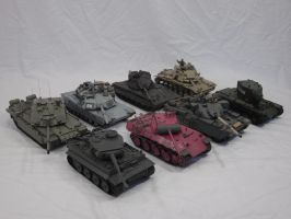 One Year review: Tanks by enc86