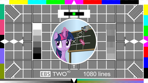 Testcard T (for Twilight) by itv-canterlot