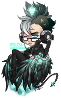 Gaia Commission: Spungie by Galactic-Rush