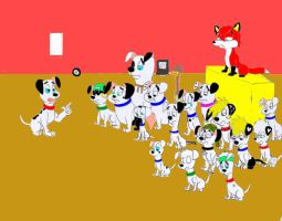 101 Dalmatians against Jetix by Trey-Vore