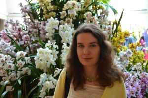 Myself at the RHS London Orchid Show 2015 by Mararda