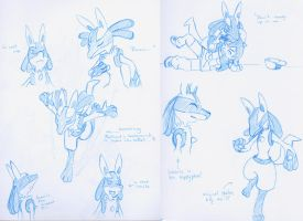 Lucario Sketches