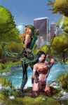 Robyn Hood Legend #3 Cover C color by cehnot
