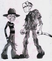 freddy vs jason by weaseltear