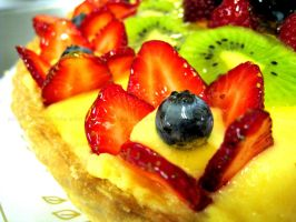 Fruit Tart Flower by asthetiq