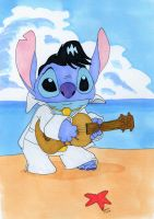 Stitch is a Hunka Hunka Burnin Love by Gryffingirl77
