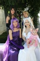 .:SM Group princesses:. by cosplay-muffins