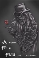 A rose from Kalma by NightFlame666