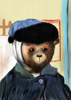 (WIP) Vincent Van Bear by SirCassie