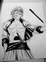 Grimmjow Jaegerjaquez by kjviray