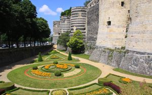 Castle - Angers by UdoChristmann