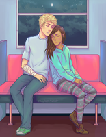 Tired Demigods by Rhaylee