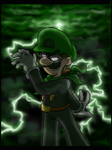 The Green Thunder by Claudia-Sierra