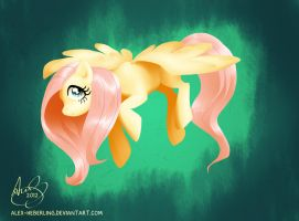 Fluttershy by alex-heberling