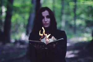My fire ritual by LucreciaMortishia