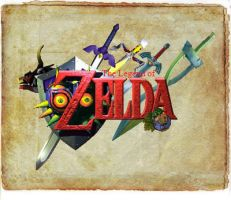 The Legends of Zelda by iverie