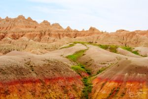 Badlands Landscape by ElaineSelene