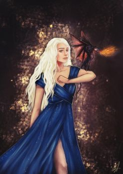 Mother of Dragons by starparticles
