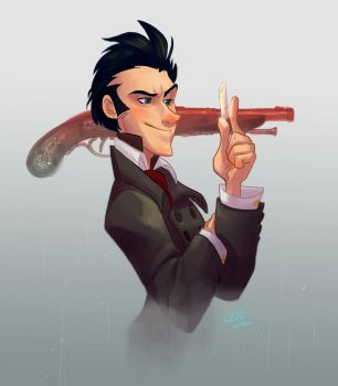 Evariste Galois Commission by haylzherrick