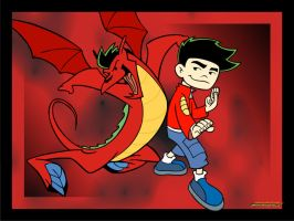 Jake Long -13- by dannyandoxeld