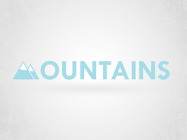 Mountains Logo by arTeem