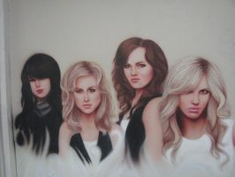 The Donnas - Airbrushed by Otherworldly7