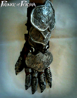 Prince Of Persia 2008 - Gauntlet Prop Cosplay by 6Silver9