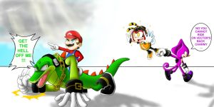 He's not a Yoshi... by QuesoGr7