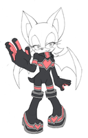 Rouge alt. Rivals outfit by LeatherRuffian