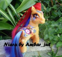 My little pony custom Niara by AmbarJulieta