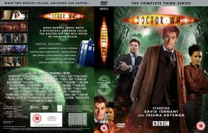 DOCTOR WHO SERIES 3 DVD COVER by MrPacinoHead