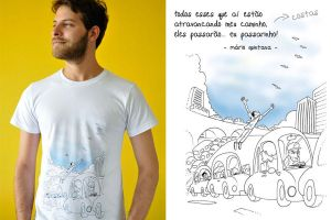 Fugirus Transitus T Shirt by ChamaCamisetas