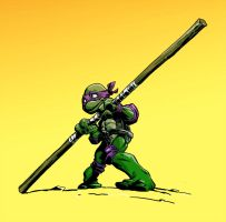 Young Donatello by BrandonPalas